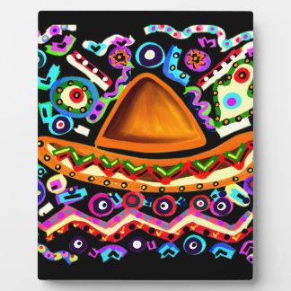 Mexican Sombrero Plaque