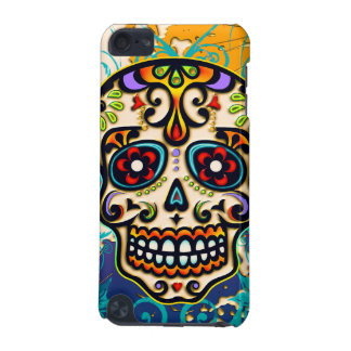 Mexican Sugar Skull, Day of the Dead iPod Touch 5G Cases