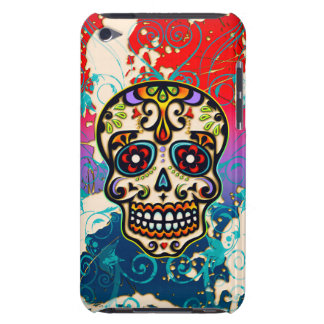 Mexican Sugar Skull, Day of the Dead, Ornaments Case-Mate iPod Touch Case