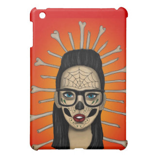 Mexican Sugar skull Girl iPad Mini Case