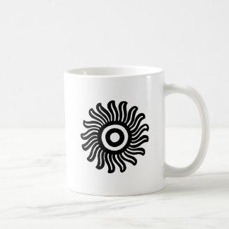 Mexican Sun Motif Mug