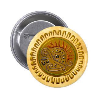 Mexican Sunbird Pinback Buttons