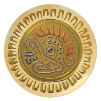 Mexican Sunbird Plates
