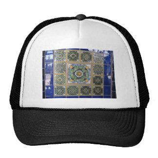 Mexican Talavera style tiles Cap