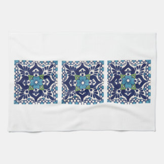 Mexican Talavera Tile Tea Towel