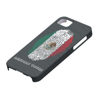 mexican touch fingerprint flag iPhone 5 case
