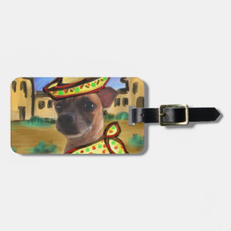 MEXICAN VILLAGE LUGGAGE TAG
