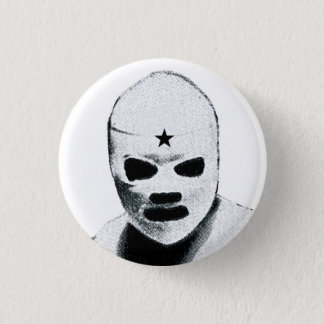 Mexican Wrestler 3 Cm Round Badge