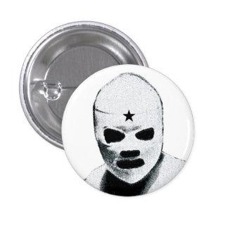 Mexican Wrestler 3 Cm Round Badge