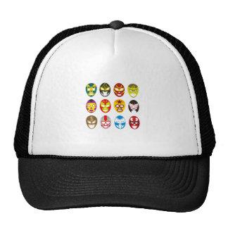 Mexican Wrestling Masks Cap