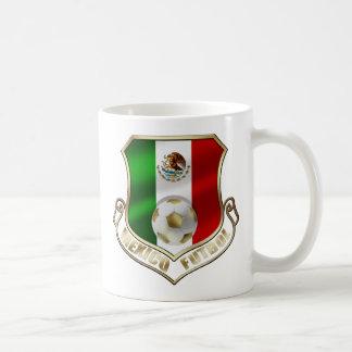 Mexicano Futbol badge emblem soccer Shield Coffee Mug