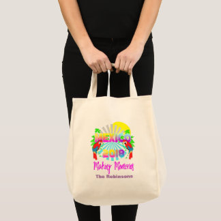 Mexico 2018 Family Group Vacation Personalized Tote Bag