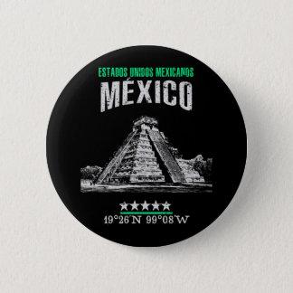 México 6 Cm Round Badge