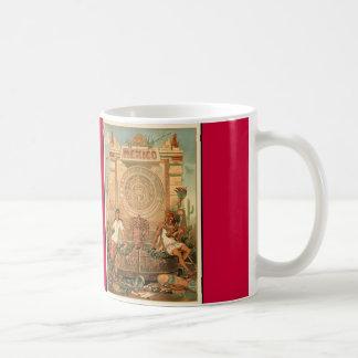 México a través de los siglos coffee mug