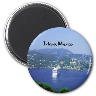 Mexico and Central America 6 Cm Round Magnet