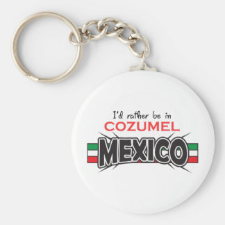 MEXICO APPLIQUE COZUMEL KEY RING