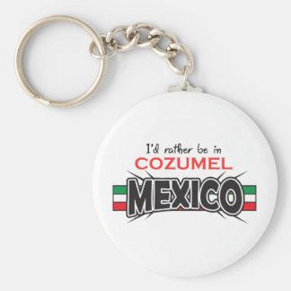 MEXICO APPLIQUE COZUMEL KEY RING