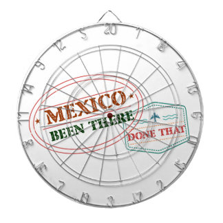 Mexico Been There Done That Dartboard