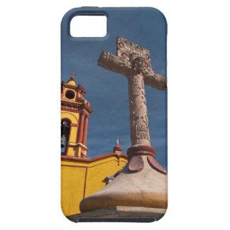 Mexico, Bernal. View of Iglesia de San Sebastian iPhone 5 Cases
