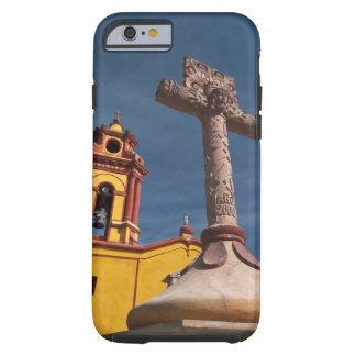 Mexico, Bernal. View of Iglesia de San Sebastian Tough iPhone 6 Case