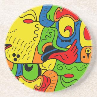 Mexico Beverage Coasters