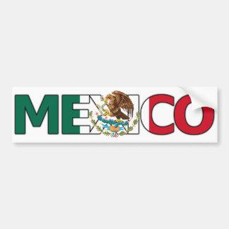 Mexico Bumper Sticker