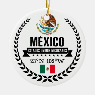 Mexico Ceramic Ornament