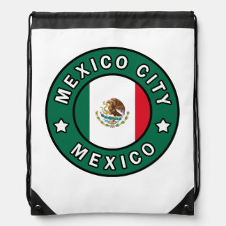 Mexico City Mexico Drawstring Bag