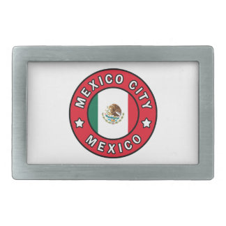 Mexico City Mexico Rectangular Belt Buckles