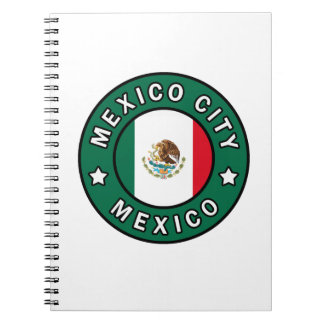 Mexico City Mexico Spiral Notebook
