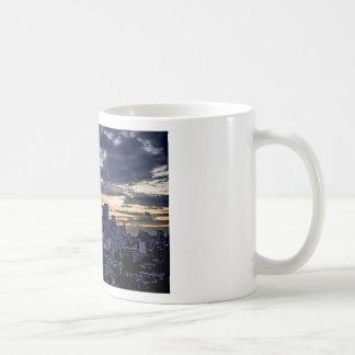 Mexico City Night Skyline Coffee Mug