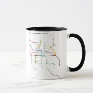 Mexico City Public Transit Mug