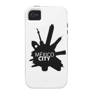 Mexico City Rounded Case-Mate iPhone 4 Cases
