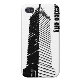 Mexico City Seguros Latinos building Iphone 4 cas iPhone 4 Cover