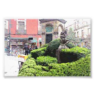 Mexico City Streetscape Photo Print
