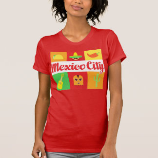 mexico city world cities tshirt various colors