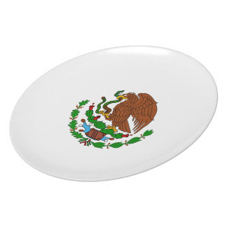 Mexico Coat arms Dinner Plates