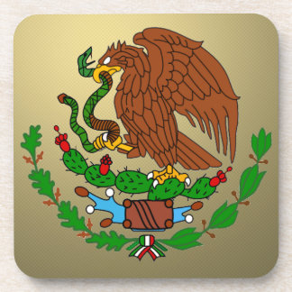 Mexico Coat arms Drink Coasters