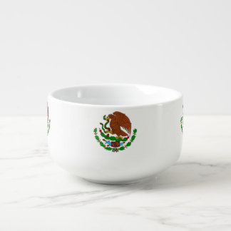 Mexico Coat arms Soup Mug