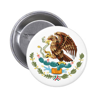 Mexico Coat of Arms Button