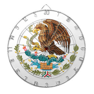 Mexico Coat Of Arms Dartboard