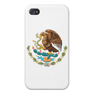 Mexico Coat of Arms iPhone 4/4S Covers