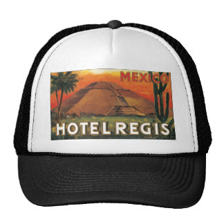 Mexico Ds Hotel Regis, Vintage Hats