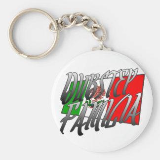 Mexico Dubstep Familia camiseta MX DUBSTEP Key Chains