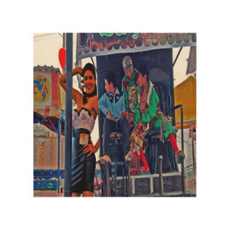 Mexico festival wood canvases