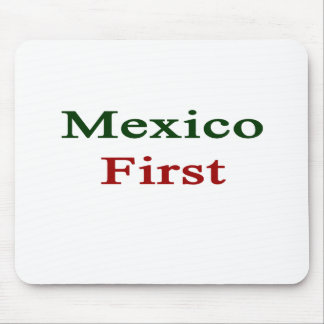 Mexico First Mouse Pad