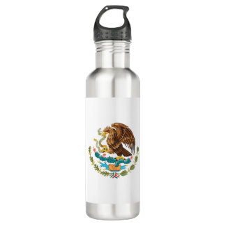 Mexico Flag 710 Ml Water Bottle