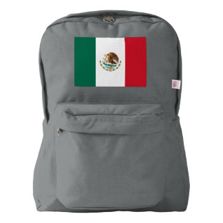 Mexico Flag Backpack