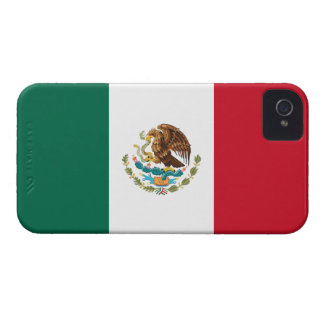 Mexico Flag Barely There™ iPhone 4 Case