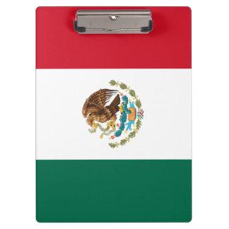 Mexico Flag Clipboard